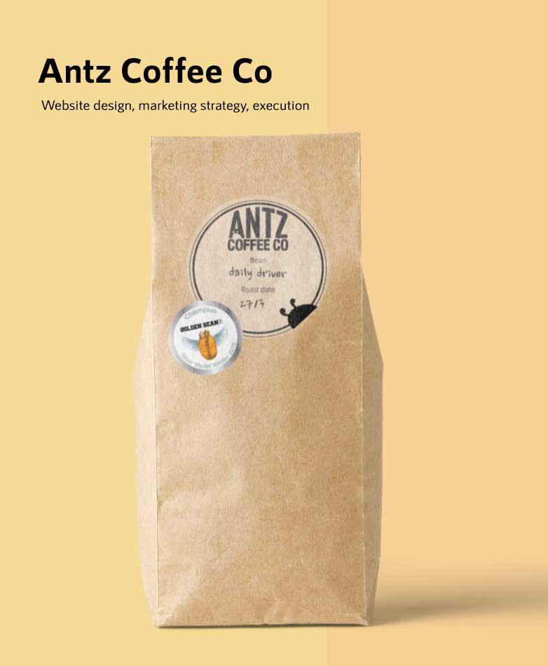 Lumos Marketing: Antz Coffee Co | Small Business Marketing