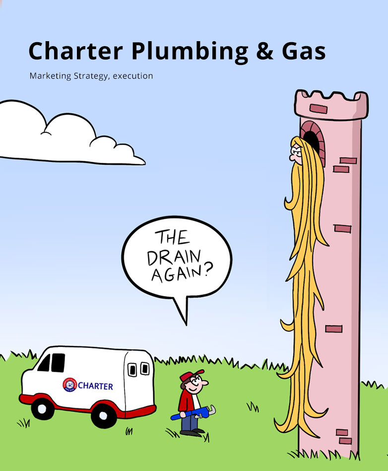 Lumos Marketing: Charter Plumbing & Gas | Small Business Marketing