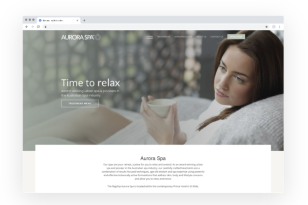 Lumos Marketing: Aurora Spa | Small Business Marketing