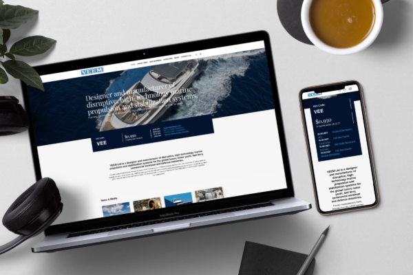 VEEM ASX Web build | Lumos Marketing | ASX Listed Website